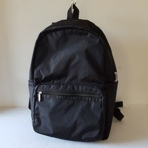 LeSportSac Backpack Large Essentials Black Nylon